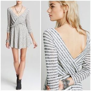 Free People 3/4 sleeve dress sz S $128